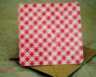 Blank Cards / Gift Enclosures / Holiday Cards / Christmas Cards / Gift Tags / Cards with Envelopes / Rustic Cards / Mini Cards /mad4plaid