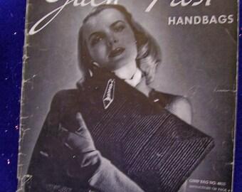 vintage JACK FROST handbags crochet book vol. 48 circa 1945