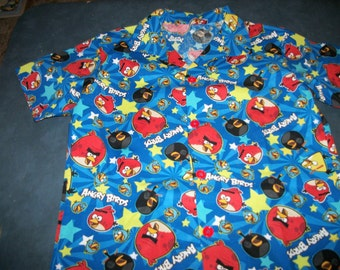 ANGRY BIRDS SHIRT Size 6, 7, & 8