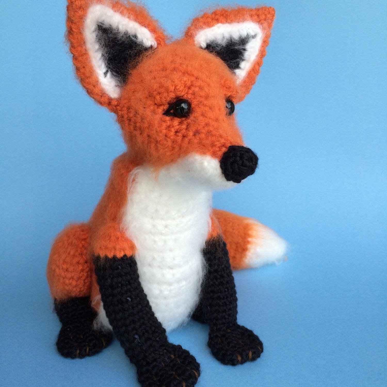 Crochet Fox Pattern (English only) from bvoe668 on Etsy Studio