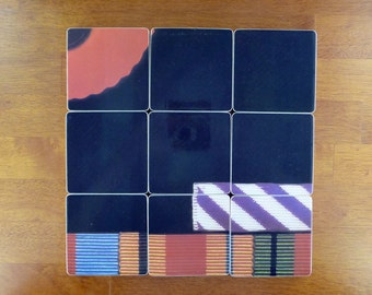 Pink Floyd recycled The Final Cut album cover coasters and wacky record bowl