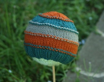 PATTERN Knit 'Evan' Newborn Hat PATTERN knitting pattern, winter hat, baby hat, make it yourself, hand knit, beanie