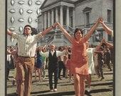 Original Collage Surreal Flash Mob