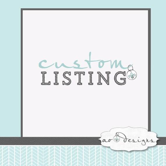 Custom Order for Asami