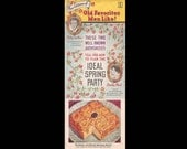 New Editions of Old Favorites Men Like No. 4 - Vintage Recipe Booklet c. 1936