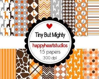 Digital Scrapbooking-TinyButMighty-InstantDownload