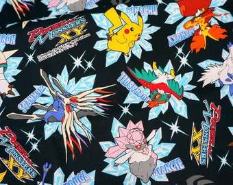 Pokemon fabric Half meter Printed in Japan ©nintendo ©pokemon