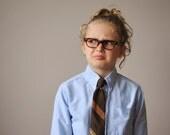 1960s Striped Snapper Tie for Kids