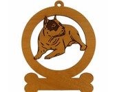 American Pit Bull Ornament 081206 Personalized With Your Dog's Name