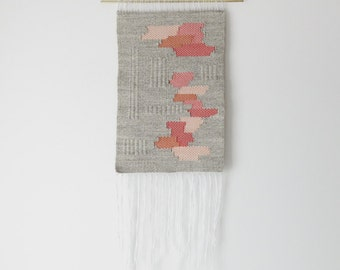 if/then | hand woven wall hanging weaving