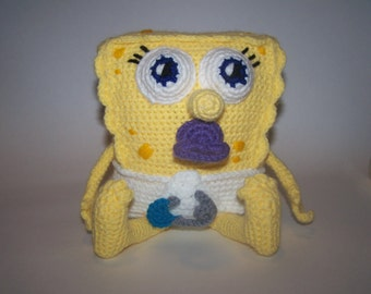 Baby Spongebob PDF Pattern