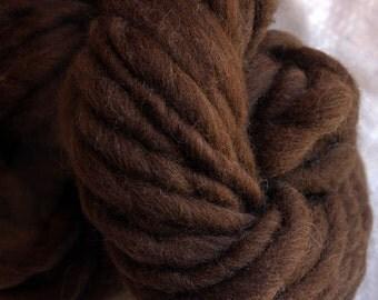 Handspun bulky yarn