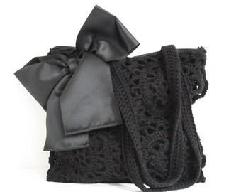 Crochet shoulderbag Beth