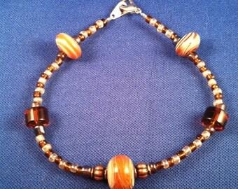 SUNRISE Beaded Boro Glass Bracelet