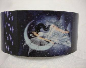 Fairy Bracelet Decoupage Cuff Bracelet
