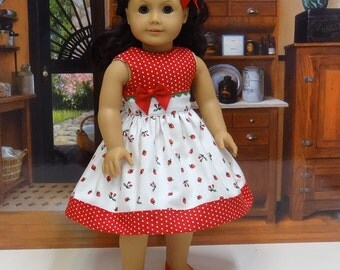 Mixed Berries - Dress for American Girl doll