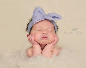 Newborn Big Bow - Dusk Color