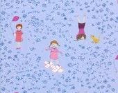 Hello Petal Playtime in Periwinkle by Aneela Hooey for Moda Fabrics 1/2 Yard