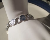 "Beautiful Sarah Coventry Silver Toned 1967 ""Young and Gay"" Bracelet"