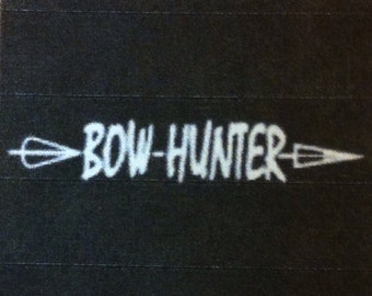 """Bow Hunter 4"""" Decal"""