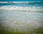 Blue Ocean Waves in Florida Fine Art Print