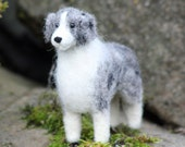 Dog Needle Felting Kit - Australian Shepherd