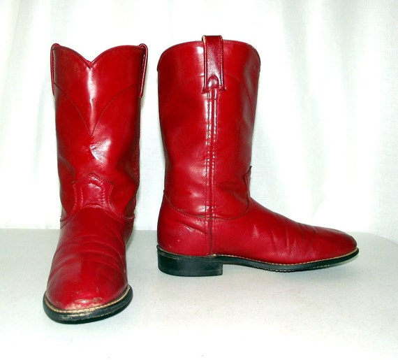 Elegant Cheap Red Cowboy Boots For Women - Yu Boots