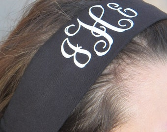 Monogrammed Head Band