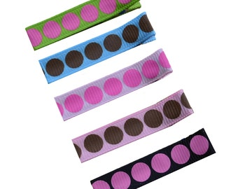Biggie Dots Girls Hair Clip Set