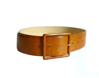 MIEL French Vintage Leather Belt