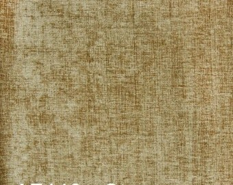 Stone Neutral Tan velvet upholstery fabric by the yard - A7446 Stone