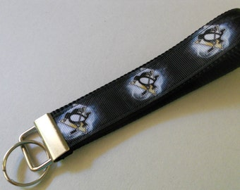 Pittsburgh Penguins Wristlet Key Fob