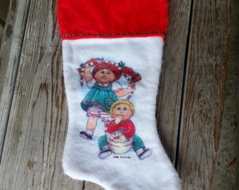 1984 Cabbage Patch Christmas Stocking