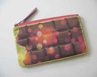 Chocolate Pouch Cosmetic Travel Bag