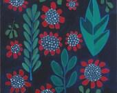 floral pattern original painting
