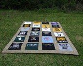 Tshirt  Quilt made with your own Tee Shirts