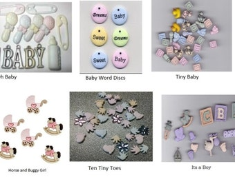 BABY Buttons Sets - Choose Styles