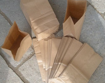 200 Penny Small Brown Paper BAGS