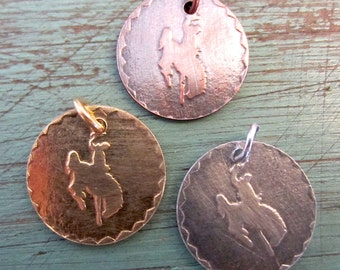 Embossed Cowboy Necklace