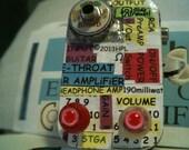 Guitar Headphone Amp. #228 EYEBALL KNOBS. only one avail. Custom unit.Free repairs thru.Jan2014