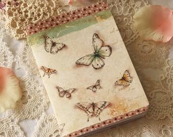Illustrated notebook - Butterflies