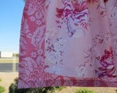 Shabby and Sweet Half Apron  made with Soft Pink Roses  Circa Fabric by Jennifer Paganelli
