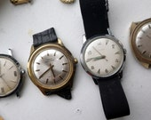 Watch Lot - 1980s/1970s - Timex Automatic, Manual, Battery.