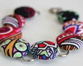 Bracelet - Multi-Color Buttons