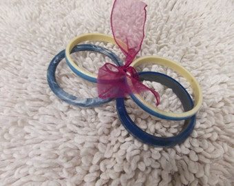 Five Bangle Bracelets - Vintage- SALE