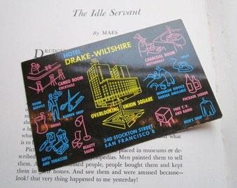 Vintage Hotel Drake-Wiltshire postcard