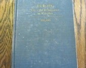 Europe From the Renaissance to Waterloo  Vintage Book by Robert Ergang