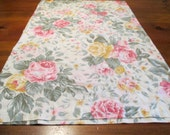 Reclaimed Pillowcases - Rose Bouquets Free Shipping