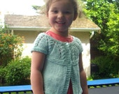 Saoirse Baby and Toddler Cardigan PDF knitting pattern