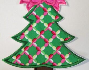 Iron On Applique - Christmas Tree